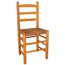 SMBR - 211 Silla de Comedor Bola reforzada de madera de chopo asiento de  Enea-