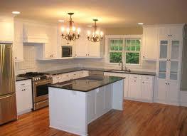modern white kitchens with dark wood floors. Delighful Kitchens Kitchens With Wood Floors Kitchen Modern White Dark  Wainscoting Grey Throughout