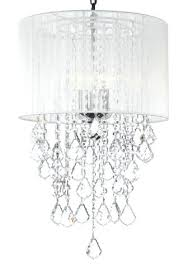 chandelier with white shade crystal chandelier with large white shade x black and white check chandelier