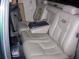 2002 chevy avalanche rear 60 40 seat