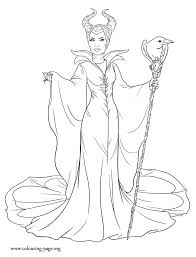 Maleficent Maleficent The Evil Fairy Coloring Page Coloring Home
