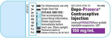 Ndc 0009 0746 Depo Provera Medroxyprogesterone Acetate