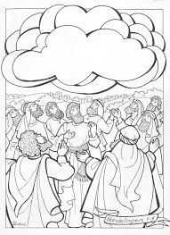 Kleurplaat Hemelvaartsdag 3 10 Jaar Bijbels Opvoedennl