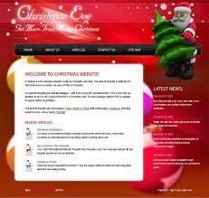Free Christmas Website Templates 1001 Templates