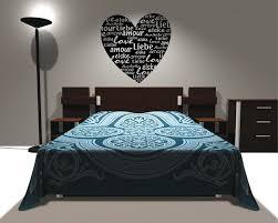 Wandtattoo Schlafzimmer Sprüche Zitate Liebe Herz | eBay
