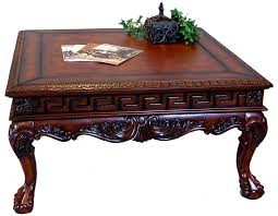 square antique coffee table tables with regard to designs 3