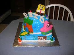 Spongebob And Patrick Cakecentralcom