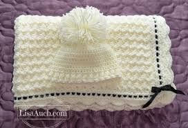 Crochet Patterns Blanket Delectable Free Crochet Patterns And Designs By LisaAuch Crochet Baby Blanket