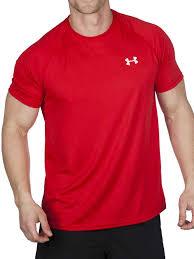 under armour 1228539. under armour mens ua tech short sleeve t-shirt 1228539-600 red 1228539 .