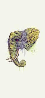 Iphone Xs Max Elephant Wallpaper
