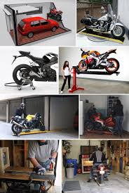 In Part 1, we looked at storage options for motorcyclists that don't have a  garage to call their own. But even for bikers that do have garages, ...