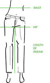 Jeans Size Chart Size Chart Mac Jeans Shop