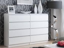 Image Is Loading IkeaStyleLargeModernWhite8DrawerChest Easy To Assemble Dresser11