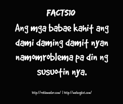 Beauty Quotes Tagalog Best Of Mr Reklamador Facts Mr Reklamador Facts Girly Tagalog Quotes