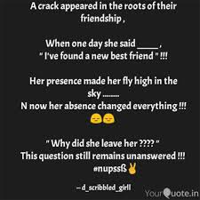 Roots Quotes Best A Crack Appeared In The R Quotes Writings By Nupss YourQuote