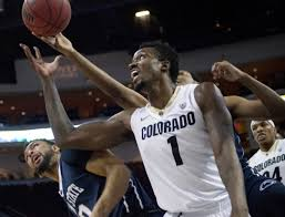 ColoradoÃs Wesley Gordon (1) tries to regain control of the ball during  their game against Penn State during the Las Vegas Classic basketball  tournament inside the Orleans Arena in Las Vegas on … |