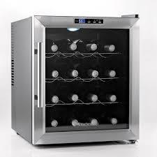 wine enthusiast wine refrigerator. Simple Wine Wine Enthusiast 16Bottle Silent Cooler On Refrigerator U