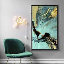 abstract painting vertical rectangular
