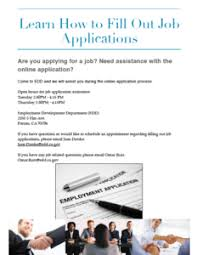 filling out applications how to fill out job applications fresno deaf and hard of hearing