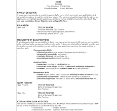 Impressive Sample Resume Examples Basic Format Templates Top Good ...