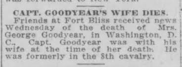 Death of Ruth S McTaffe Goodyear. She was the daughter of Mamie Kirk and  L.E. McTaffe. - Newspapers.com
