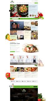 Food Taste Recipe Psd Template By Suniljoshi Themeforest