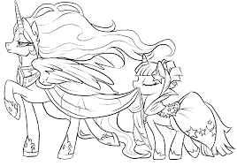 My Little Pony Coloring Pages Printable Jokingartcom My Little