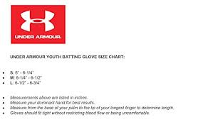 Cheap Under Armor Glove Size Chart Buy Online Off72 Discounted