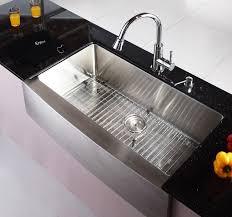 marvelous kraus kitchen sinks of creative 36 inch stainless steel sink khf20036