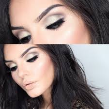 new years makeup glam gold shimmers and lips 2016