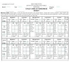 Teacher Attendance Template Barrest Info