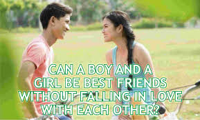 can a boy and a be best friends without falling in love with each other