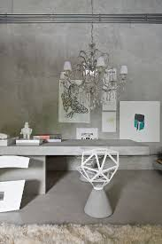 low cost office. home office interior in gt house modern and avantgarde with low cost building o