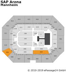 Sap Arena Mannheim Seating Chart Concerts Sportevents Shows Festivals Hotels Vouchers
