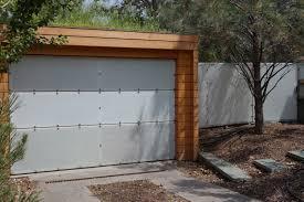 stainless steel lumicor garage door fence