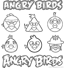 Small Picture Angry Birds Coloring Pages 8 Coloring Kids