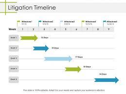 Litigation Timeline Template Litigation Timeline Ppt Powerpoint Presentation Icon Slides