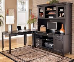 furniture shaped desks home office. unique home carlyle corner lshape desk by ashley furniture rick likes office sethome   for shaped desks home i