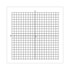 Graph Paer Graph Paper Stickers Accentuated Xy Axis Roll Of 500 Math