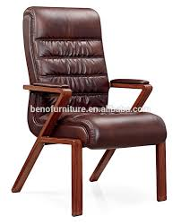 luxury office chairs leather. Luxury Wood Office Chair Igo Leather Chairs Without Wheels