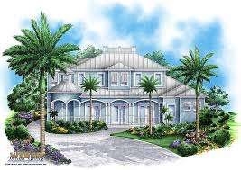 Coastal House Plan   Sunset Cove House Plan   Weber Design GroupPrint Elevation   View Larger Image