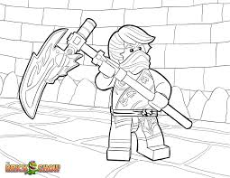 Ninjago Cole Coloring Pages to Print (Page 1) - Line.17QQ.com