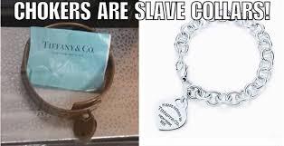 Did Tiffany Chokers Originate as <b>Slave Collars</b>?