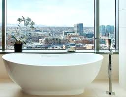 60 freestanding tub freestanding bathtub oval composite stone slipper 60 freestanding acrylic tub