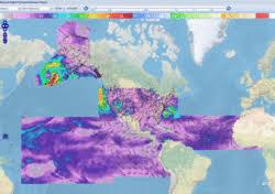 Atlantic Basin Hurricane Tracking Chart National Hurricane Center Miami Florida National Hurricane Center