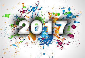 2017 background. Perfect 2017 2017 New Year With Paint Background Vector Intended Background 7