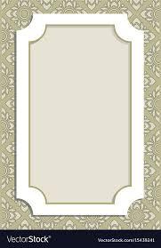 menu border frame royalty free vector
