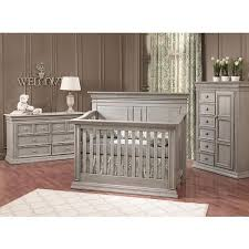 gray nursery furniture. Baby Cache Vienna 4 In 1 Convertible Crib Ash Gray Nursery Furniture C