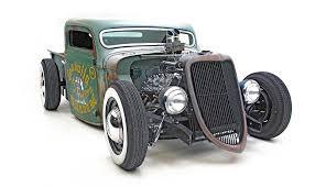 ford rat rod hot rod pick up truck