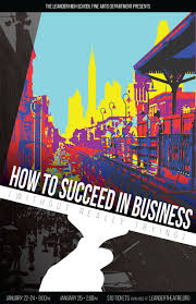 how to succeed in business out really trying receives award how to succeed poster